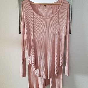 FREE PEOPLE high/low thermal